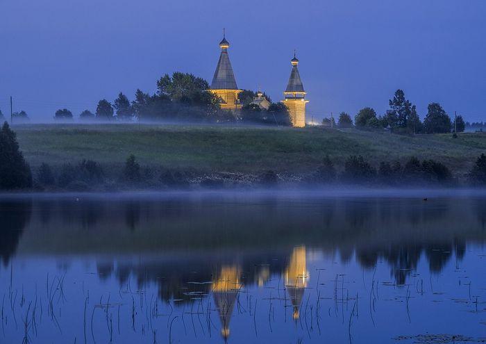 Почезерский храмовый комплекс. Фото Константина Кокошкина