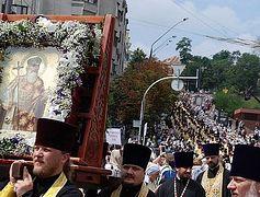 О том, как шли мы Крестным ходом от Владимирской горки