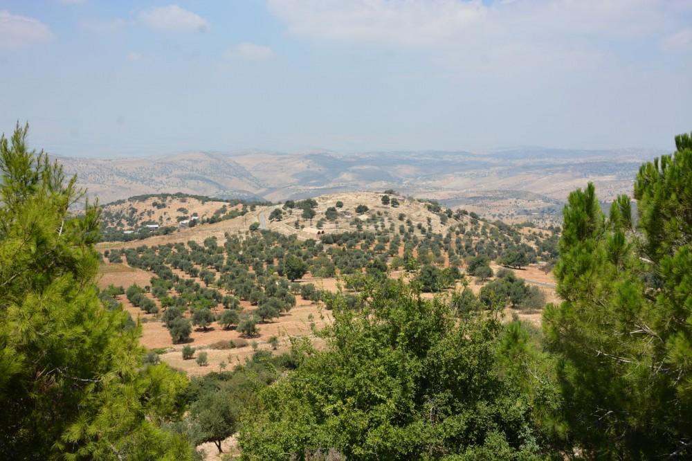 Θέα από το λόφο του Προφήτη Ηλία