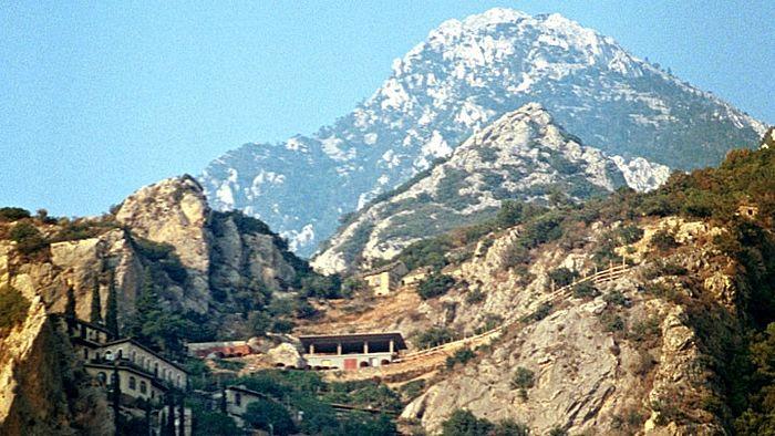 Гора Афон. Фото: www.globallookpress.com