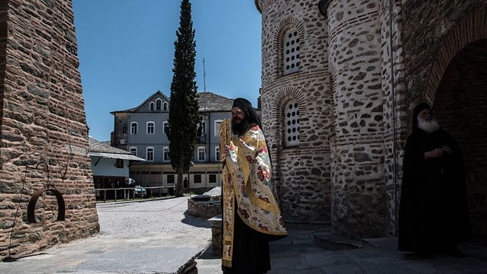 Монах Афона. Фото: www.globallookpress.com