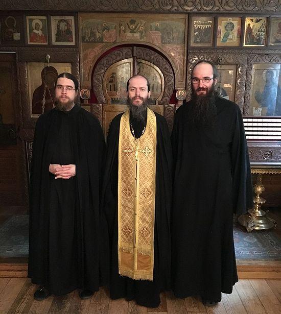 At Sretensky Monastery