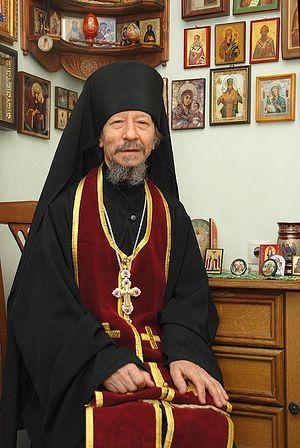 Иеромонах Иов (Гумеров) в своей келье. Фото: А.Поспелов / Православие.Ru