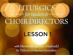 VIDEO: Orthodox Liturgics