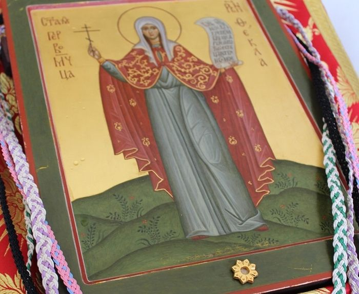 Icon of the Virgin Proto-Martyr Thecla.