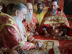Church of Royal Passion-Bearers consecrated in eastern Ukraine