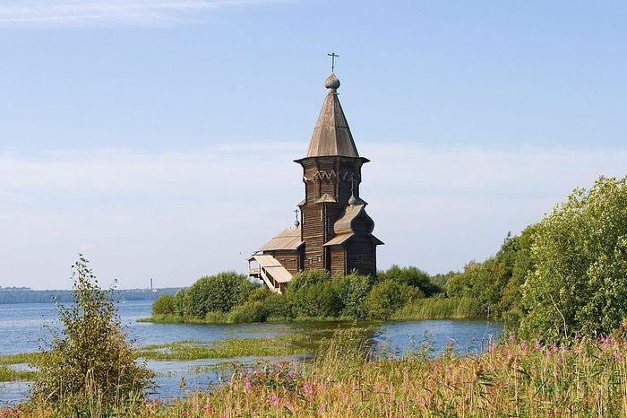 Успенская церковь в Кондопоге. Фотография: wikipedia.