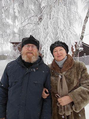 Отец Алексий и Ирина Леонидовна