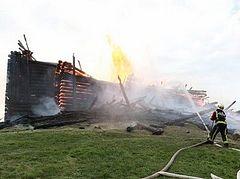 В поджоге кондопожской церкви подозревают сатаниста