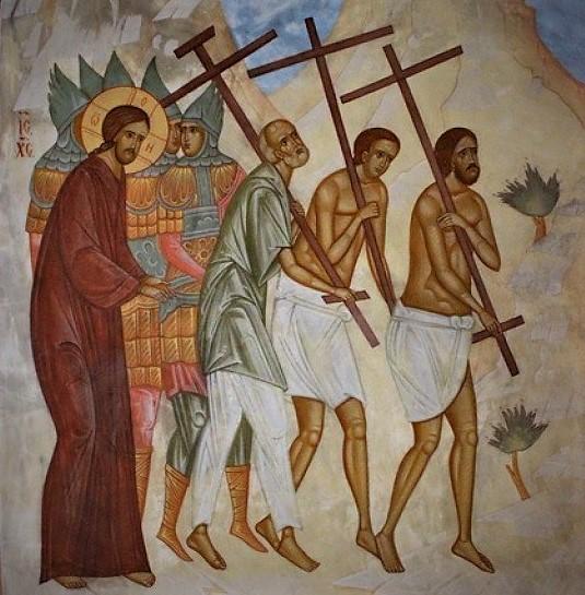 Взять крест означает – иметь терпение