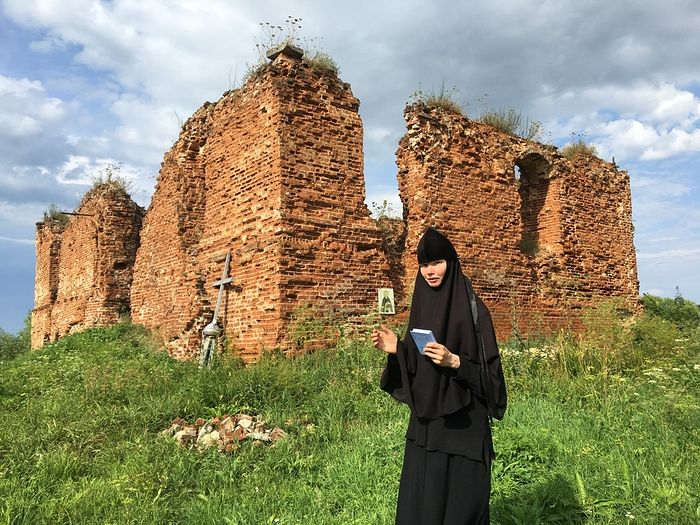 Старшая сестра Успенского Шаровкина монастыря, монахиня Елисавета