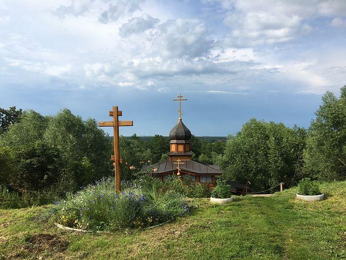 Святой источник Шаровкина монастыря