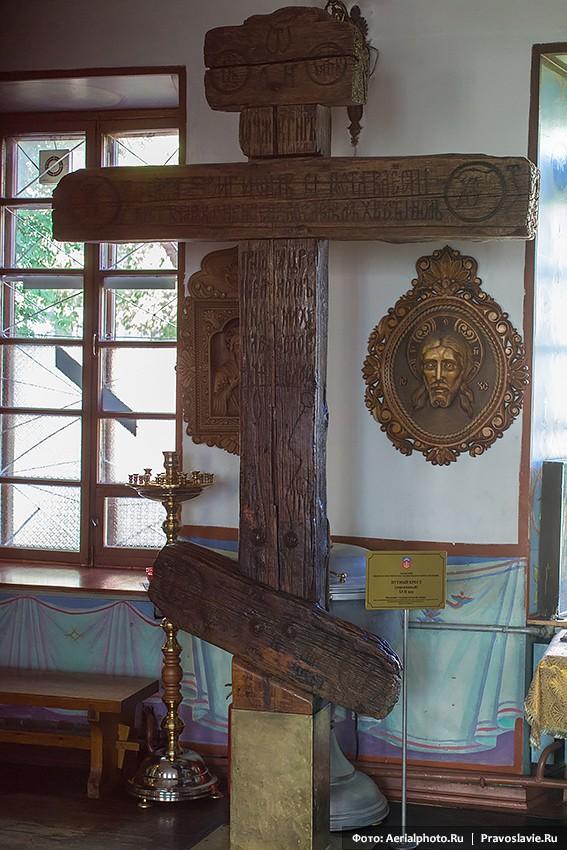 Путный крест из Благовещенской церкви