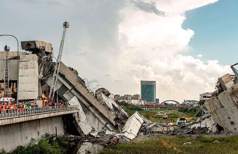 Патриарх Кирилл выразил соболезнования в связи с гибелью людей в результате обрушения моста в Генуе