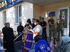 Orthodox Christians barred from entering their own church at Odessa Military Academy (+Video)
