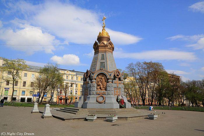 Памятник героям плевны молебен гей