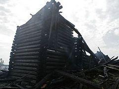 В Кондопоге обсудили, что делать с уцелевшим фрагментом Успенской церкви
