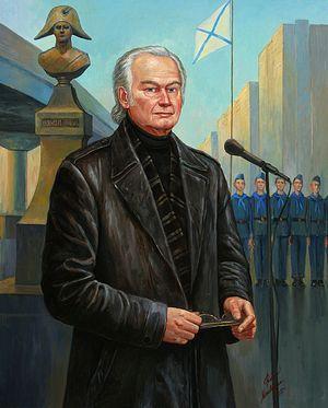 Валерий Николаевич Ганичев. Художник Филипп Москвитин