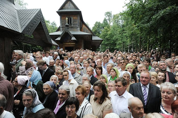 Thousands of pilgrims flock to the Holy Mountain of Grabarka, Poland each year for the Great Feast of the Transfiguration.