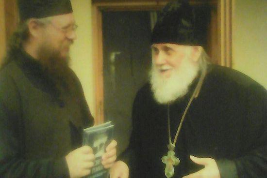 Archpriest Dionysiy Astakhov with Schema-Archimandrite Tikhon (Murtazov)
