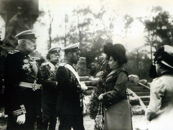 Страстотерпец Государь Император Николай Второй на открытии памятника «Стерегущему», Санкт-Петербург, 1911 год