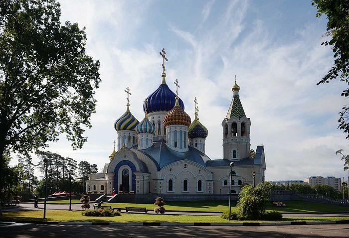 Храм святого благоверного Игоря Черниговского в Переделкине