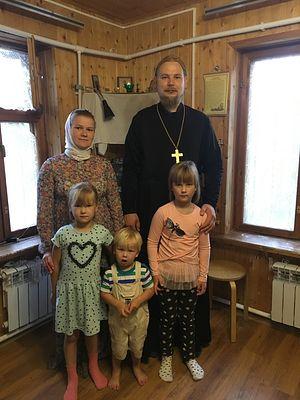 Семья отца Сергия