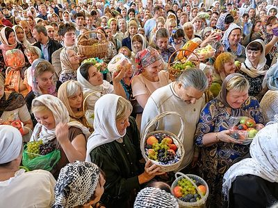The Feast of the Transfiguration of the Lord at Sretensky Monastery