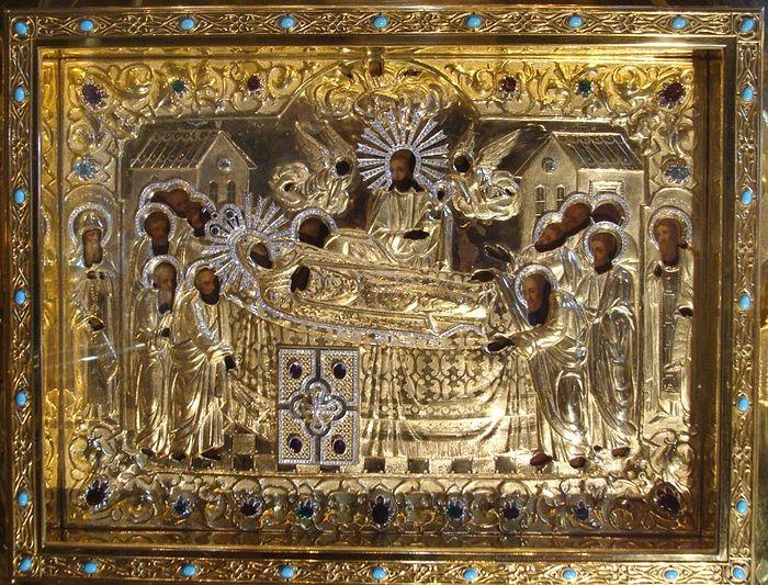 Киево-Печерская икона Успения Пресвятой Богородицы