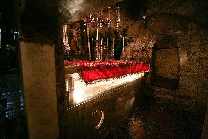 Гефсимаия, Гробница Пресвятой Богородицы