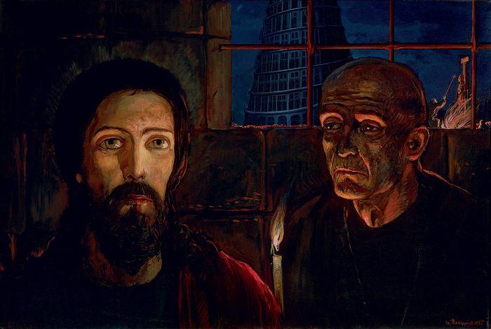Илья Глазунов. Великий инквизитор. 1985 г.