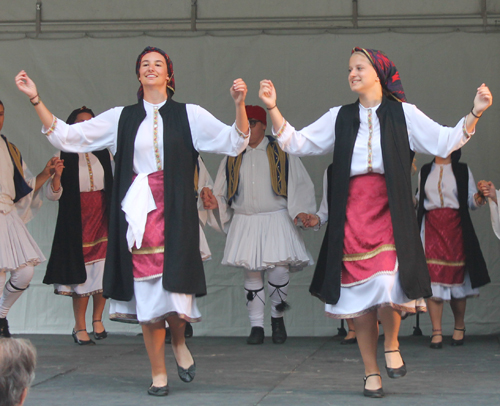 Greek dancing in Cleveland, Ohio. Photo: Cleveland people.com