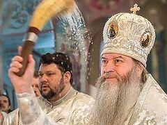 Митрополит Новосибирский Тихон: «Все, что происходит в жизни, сравнивайте с заповедями»