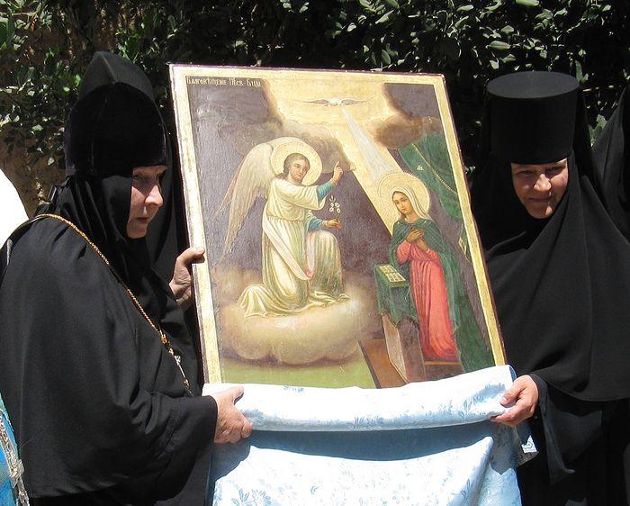 Крестный ход с иконой «Благовещение Пресвятой Богородицы»