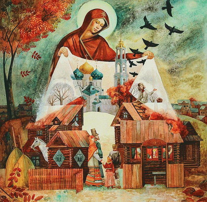 Почему Богородица почитается Церковью выше, чем все святые? 299468.p