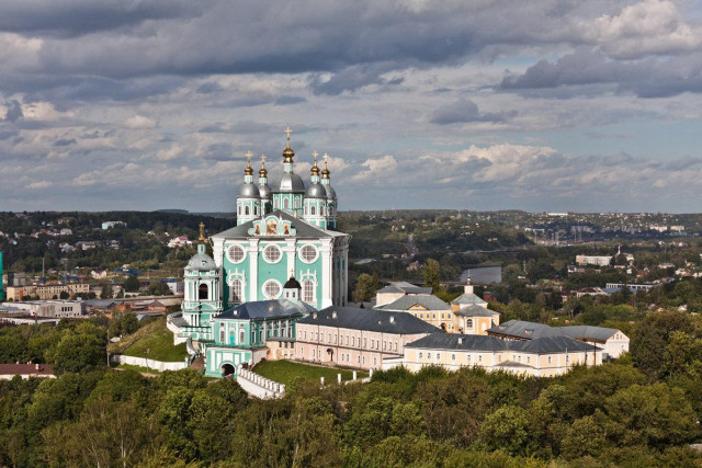 The Dormition Cathedral in the city of Smolensk. Photo: Smolnarod.ru