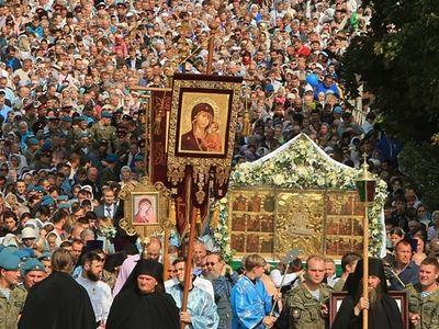 Праздник Успения Богородицы в Псково-Печерском монастыре