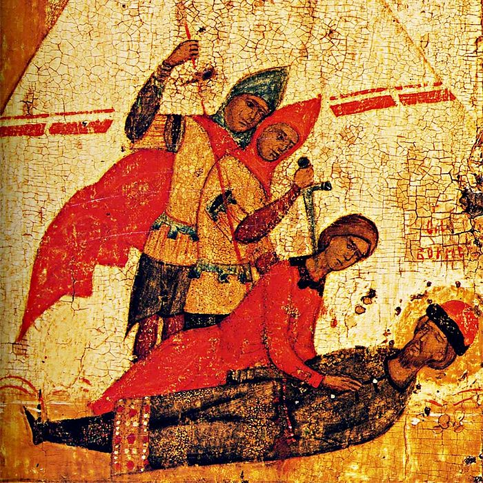 Murder of the holy Princes Boris and Gleb