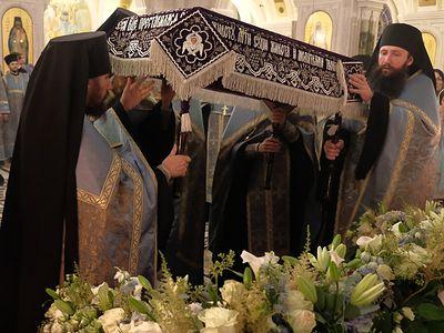 Праздник Успения Богородицы в Сретенском монастыре