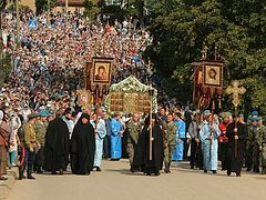 Feast of the Dormition of the Theotokos at Pskov Caves Monastery: A Photo Gallery