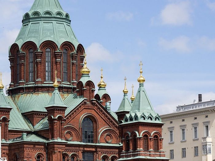 Dormition Cathedral in Helsinki. Photo: Henrietta Hassinen / Yle