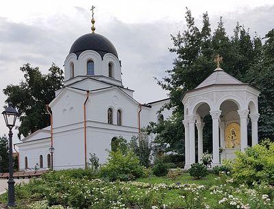 В Зачатьевском монастыре отреставрированы Церковь Сошествия Духа Святого и келейный корпус