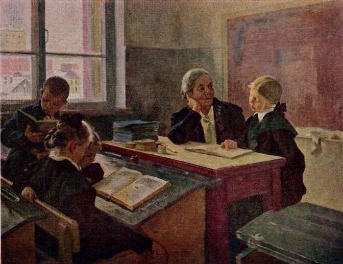 Дополнительные занятия в школе. Дмитрий И. Пускин