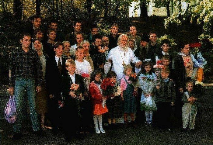 С детьми, внуками, правнуками