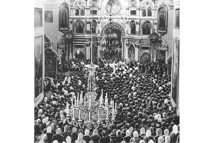 Проповедь святого праведного Иоанна в Андреевском соборе Кронштадта