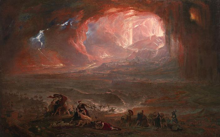 The Destruction of Pompei and Herculaneum, by John Martin.