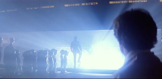 "Still from the 1977 film, ""Close Encounters of the Third Kind""."