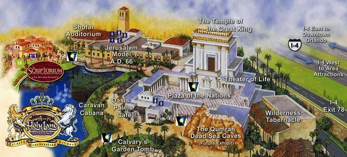 """The Holy Land Experience"" theme park in Orlando, Florida."