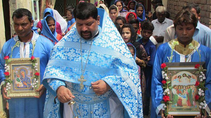 Fr. Joseph Farooq of the Archangel Michael Mission in Pakistan (ROCOR).