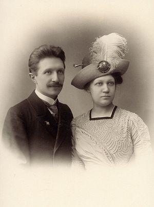 Мч. Николай и его супруга